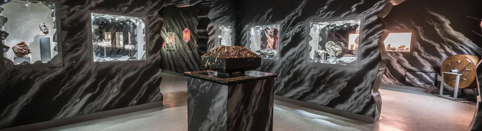 Granatium Radenthein, Ausstellung