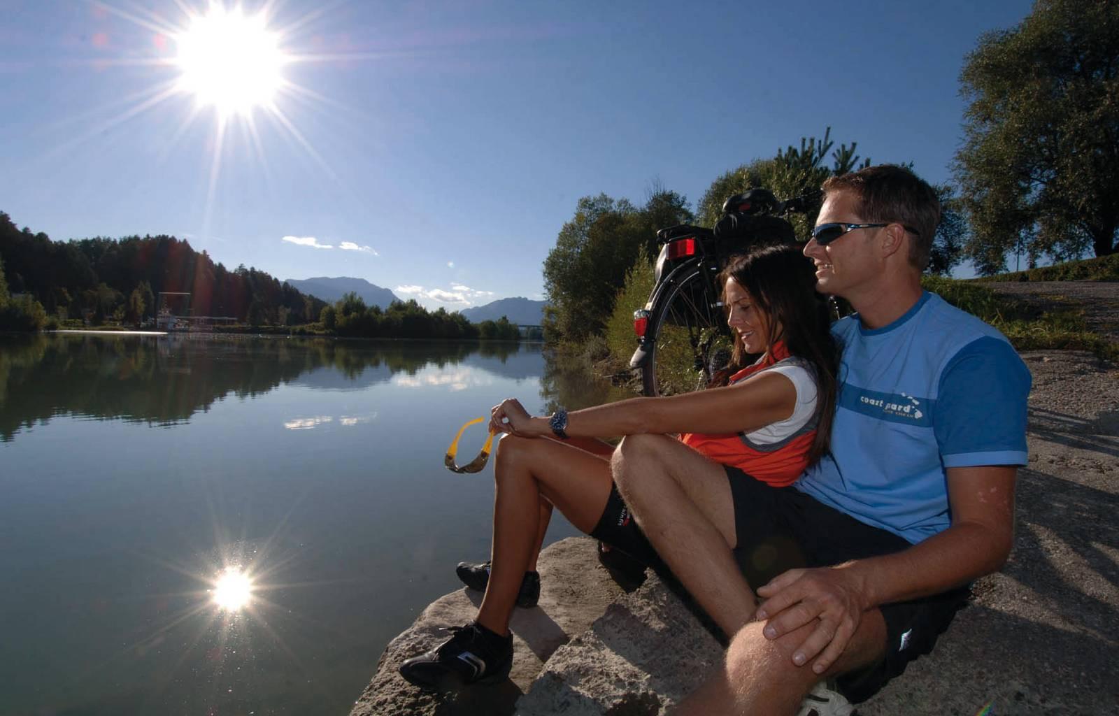 Radfahren und Mountainbiken in Kärnten, Drauradweg