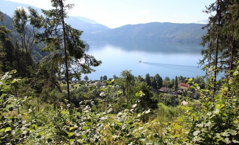 Slow Trails in der Region Millstätter See, Zwergsee