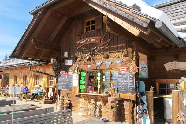 Ski und Golf, die Huaba Hittn auf der Gerlitzen