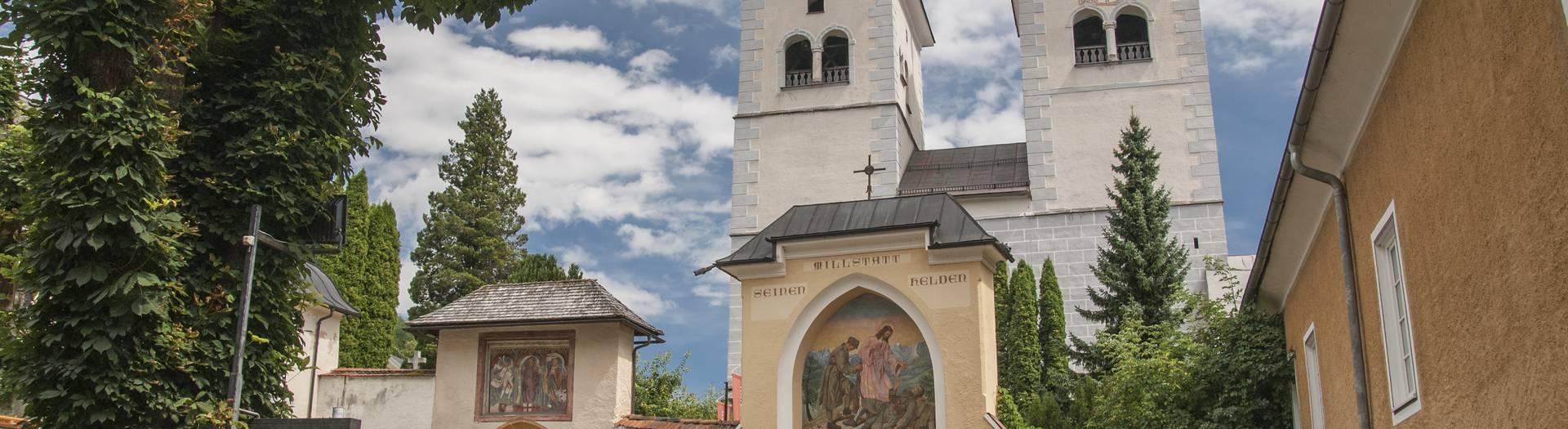 Stift Millstatt in Millstatt am Millstätter See