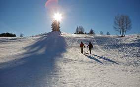 Skigebiet Weissensee