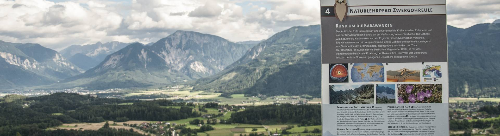 Zwergorheulen Naturlehrpfad in Köttmannsdorf im Rosental