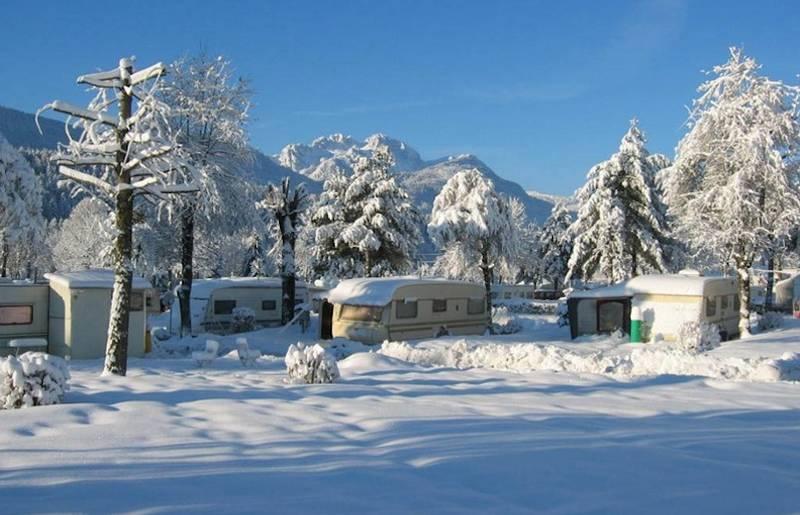 Schluga Wintercamping