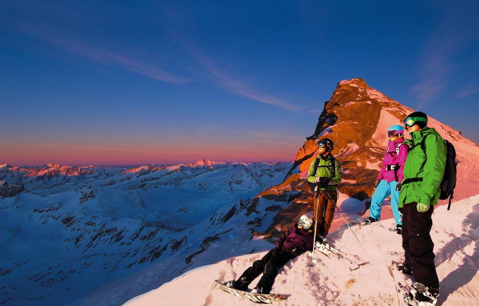Hohe Tauern die Nationalpark-Region in Kärnten Skigenuss