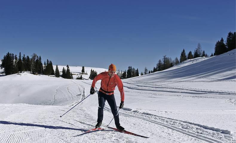 Langlaufen am Dobratsch