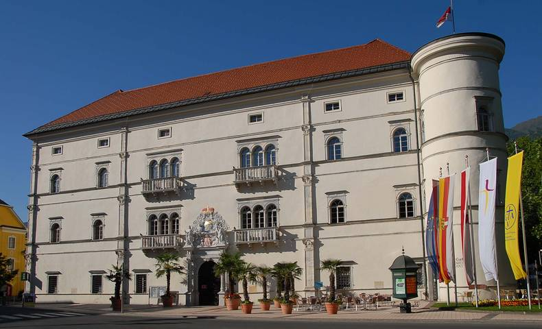 Burgen und Schlösser in Kärnten, Schloss Porcia