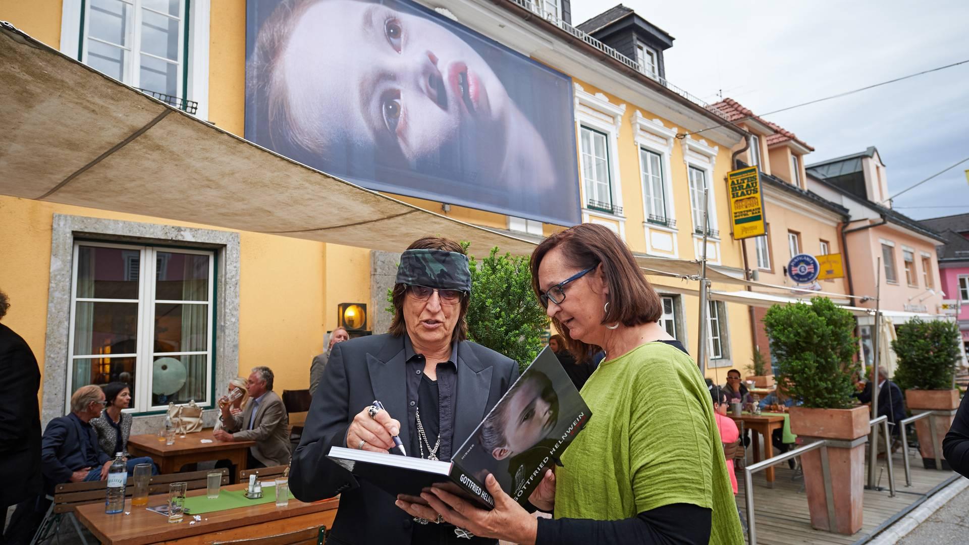Gottfried Helnwein in Bleiburg
