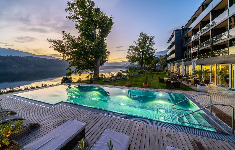 Villa Postillion am See Millstatt Pool