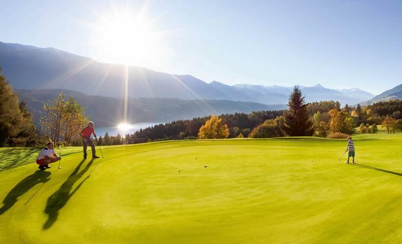 Millstatt Golf mit Generationen