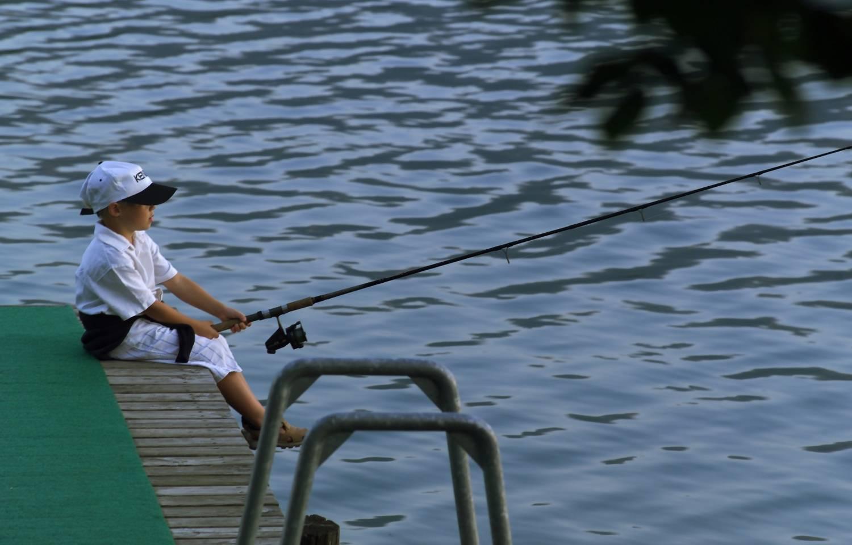 Karnerhof Familienspass beim Fischen