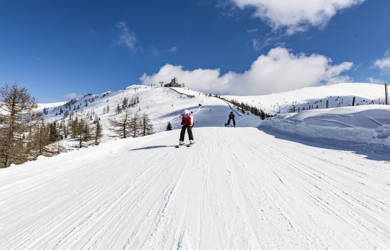 Skifahren in Bad Kleinkirchheim Kaiserburg