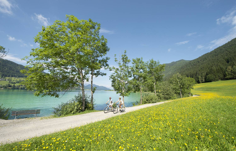 Seenbiken am Weissensee