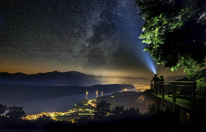 Sternenbalkon am Millstaetter See