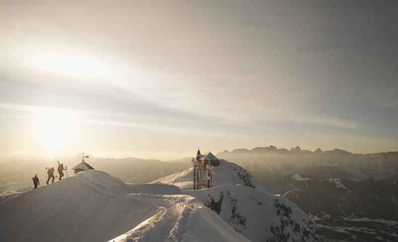 Naturpark Dobratsch Skitourengenuss