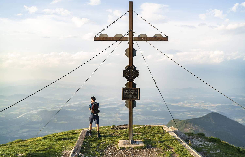 Hochobir Gipfelkreuz