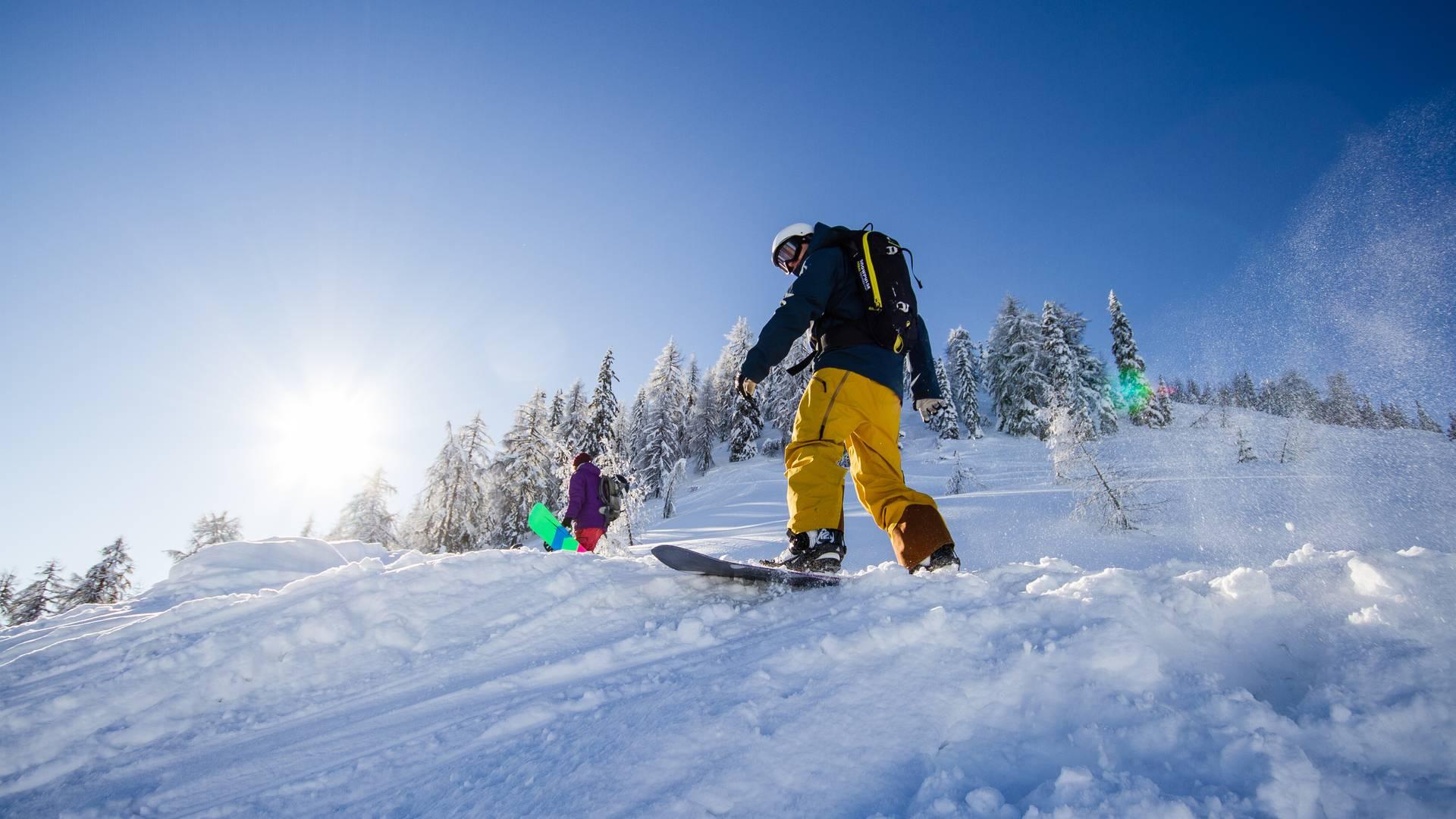 Skifahren am Goldeck