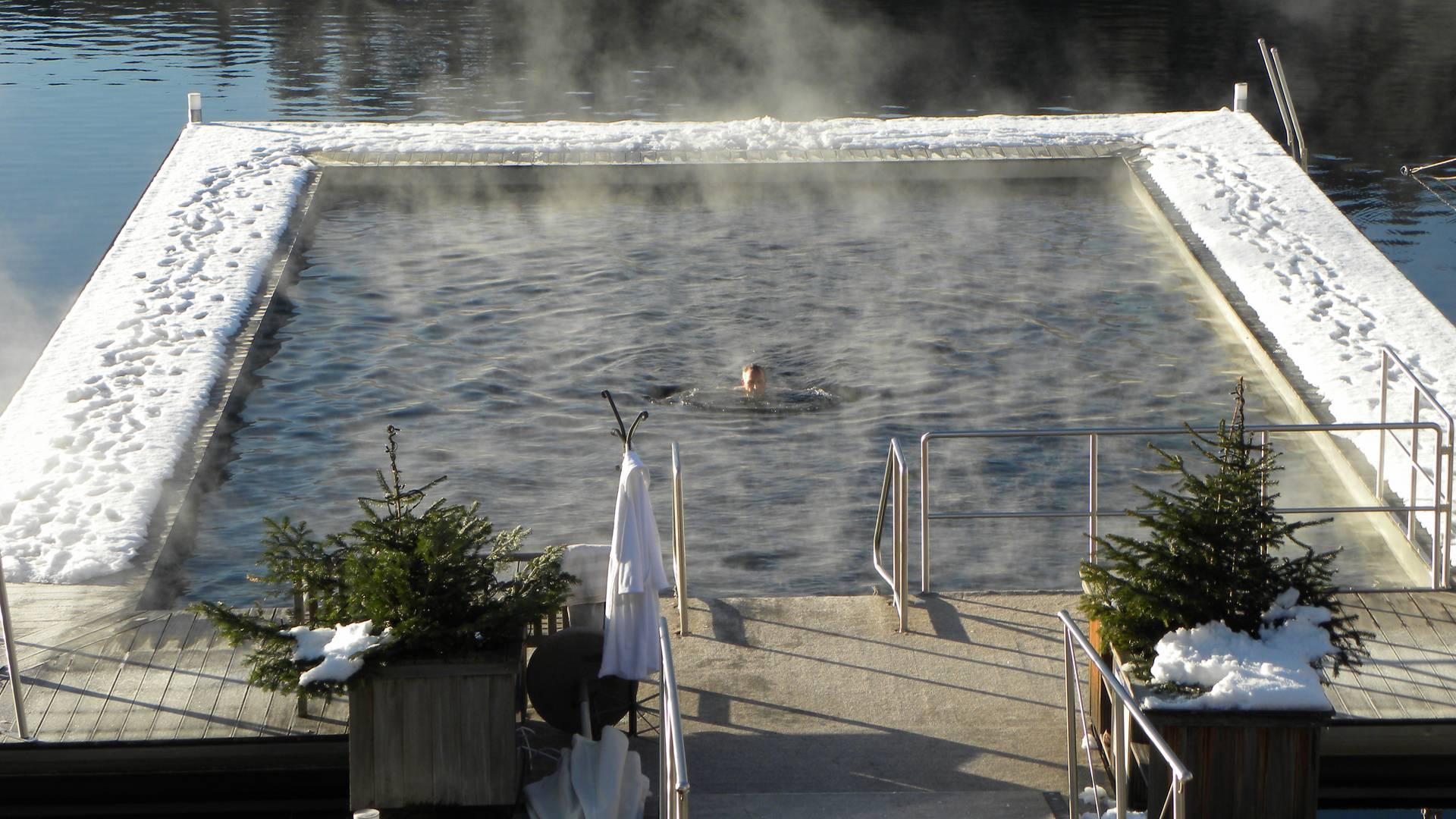 KOLLERs Hotel Seebad im Winter