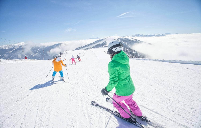 Skifahren mit der Familie in Bad Kleinkirchheim