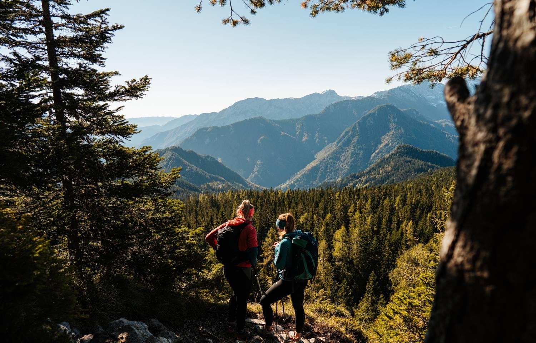 UNESCO Global Geopark Wanderung Felsentore Uschowa Eisenkappel Suedkaernten