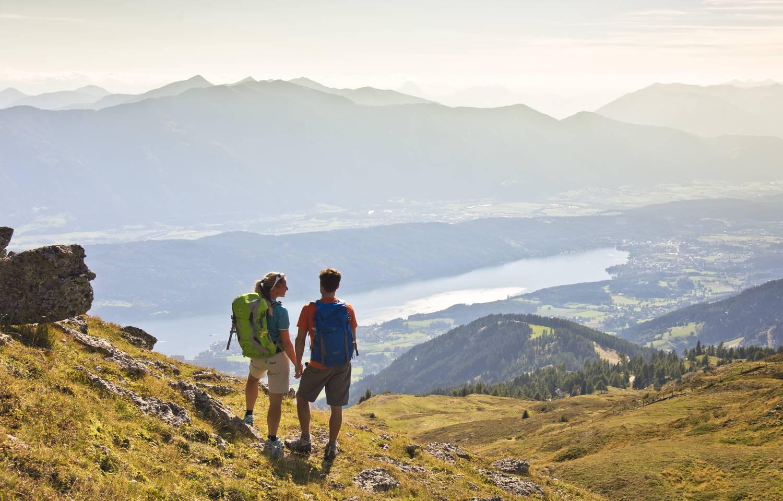 Wandern am Sentiero in der Region Millstaetter See