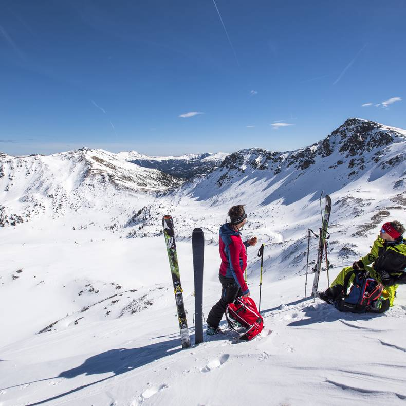 Nockberge Trail_Rast