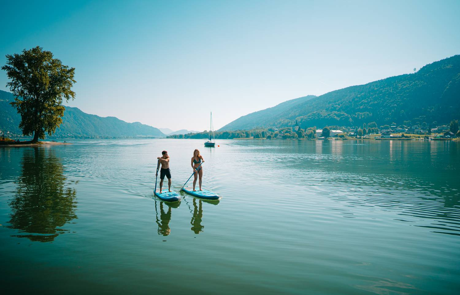 SUP am Ossiacher See