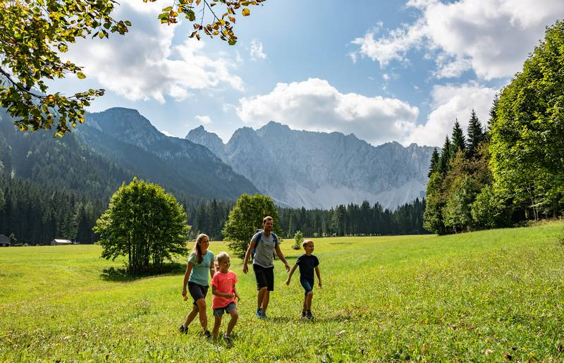 Familienwandern im Bodental