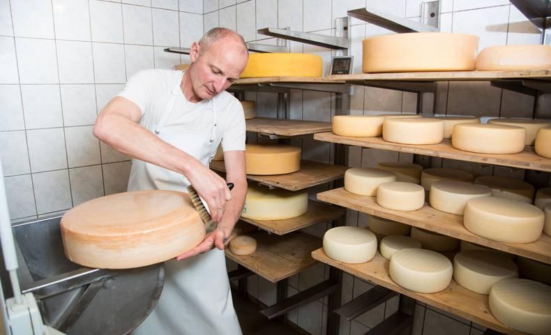 Slow Food Travel Kaeseherstellung mit Familie Zankl