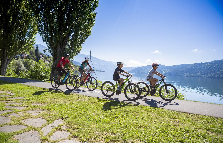 Genuss Radfahren E Bike am Millstaetter See